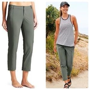 Athleta Palisades Ankle Cropped Pants 12